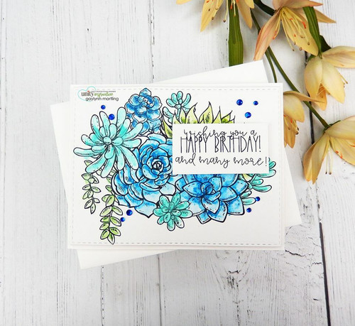 Aging Gorgeously {july 2020 sentiment kit}