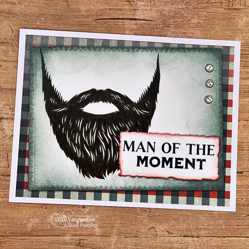 The Fan{tache}tic Bearded Man