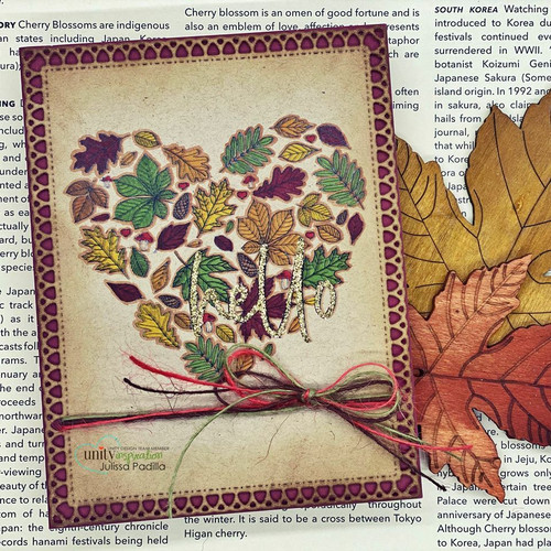 Heart of Autumn {august 2020 sentiment kit}