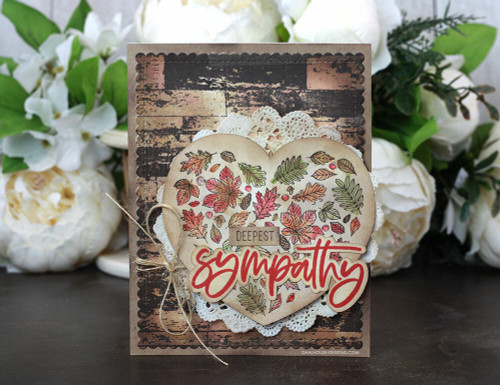 Heart of Autumn {august 2020 sentiment kit}