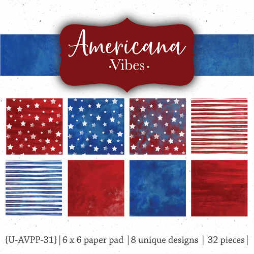 Americana Vibes {Paper Pack}