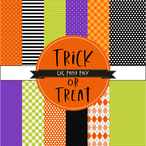 Trick or Treat {Paper Pack}