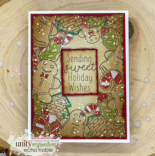 Christmas Cookies {border backgrounds}
