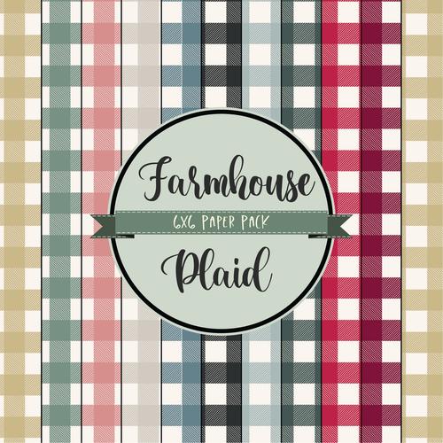 Farmhouse Plaid {Paper Pack}