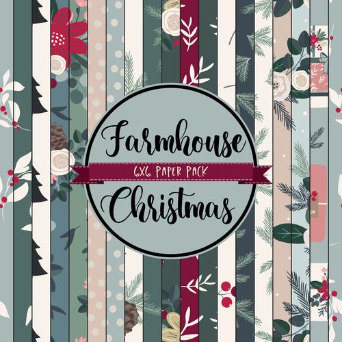 Farmhouse Christmas {Paper Pack}