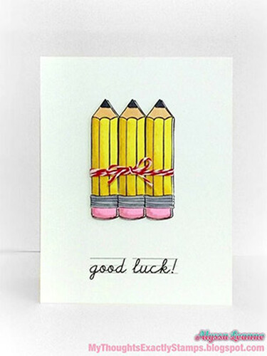 Good Luck Pencil