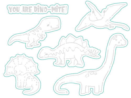 Dino-Mite - Digital Cut File