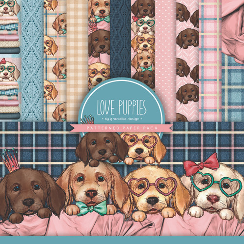 Love Puppies {Paper Pack}