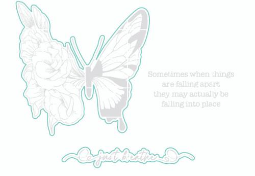 Falling Into Place - Digital Cut File