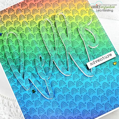 Rainbow Love Background