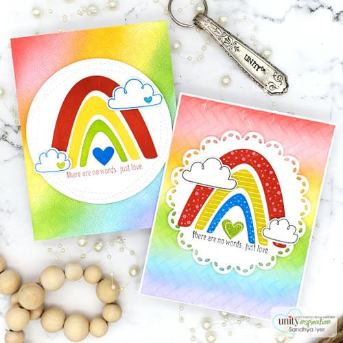 Sunshine and Rainbows {april 2021 sentiment kit}