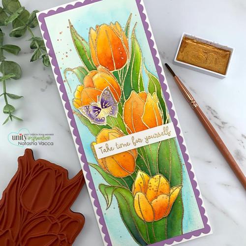Slimline Layering Tulips