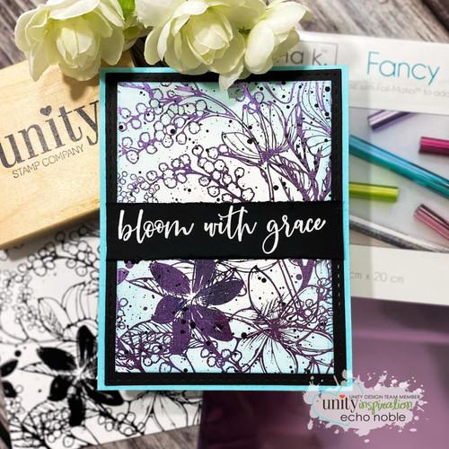 Deco Foil Toner Card Fronts {Wild Garden}