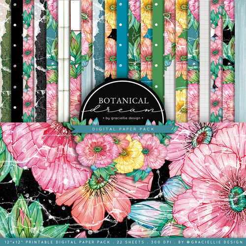 Botanical Dreams {Paper Pack}