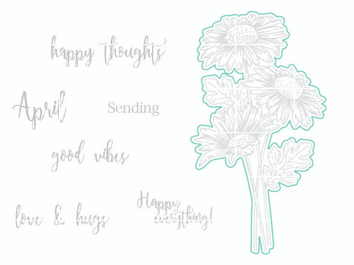 Happy Daisies - Digital Cut File