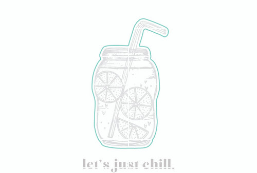 Chillin' - Digital Cut File