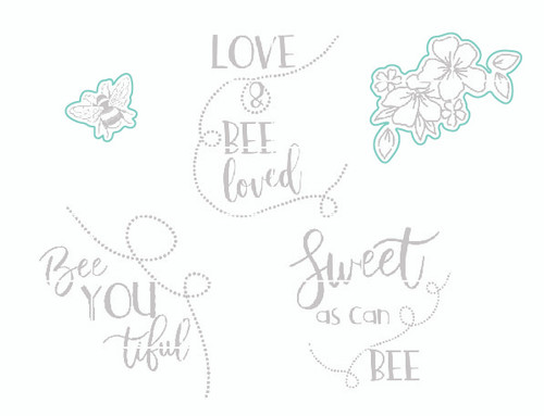 Love & Bee Loved - Digital Cut File