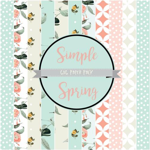 Simple Spring {Paper pack}