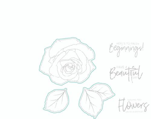 June Rose - Digital Cut File