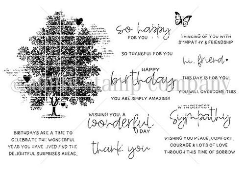 Tree of Love {july 2021 sentiment kit}