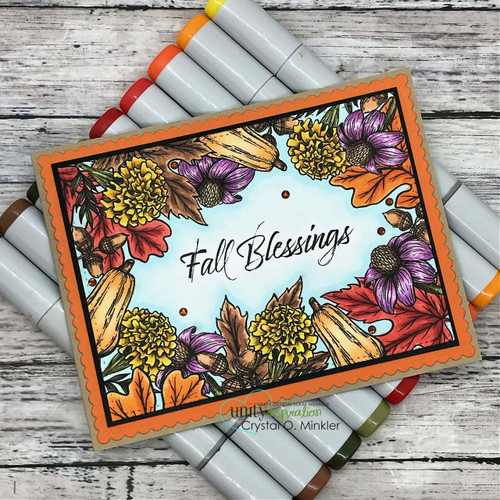 Blessings of Fall {border backgrounds}