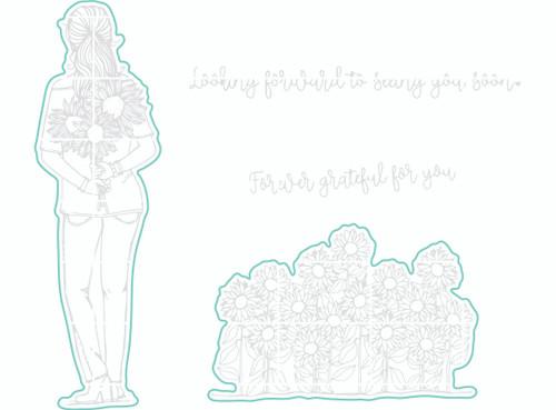 Flower Girl - Digital Cut File
