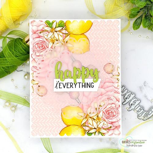 Blessed & Happy Everything {stamp & die set}