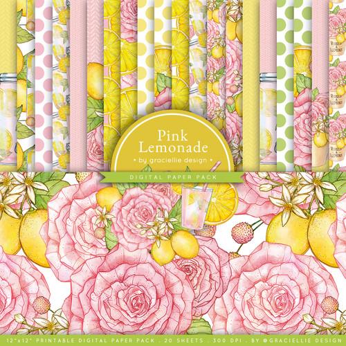 Pink Lemonade {Paper Pack}
