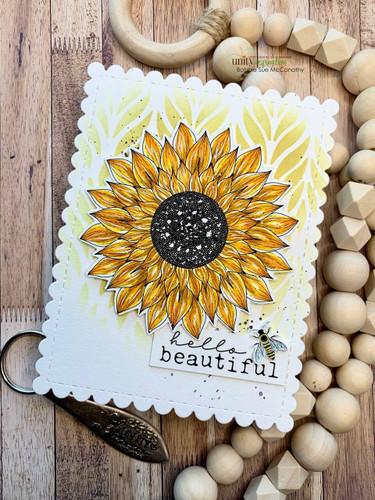 Sunflower Wishes {september 2021 sentiment kit}