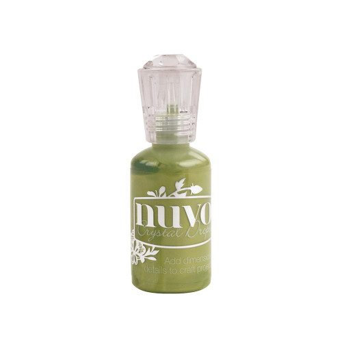 {Bottle Green} Nuvo Crystal Drops 1.1oz