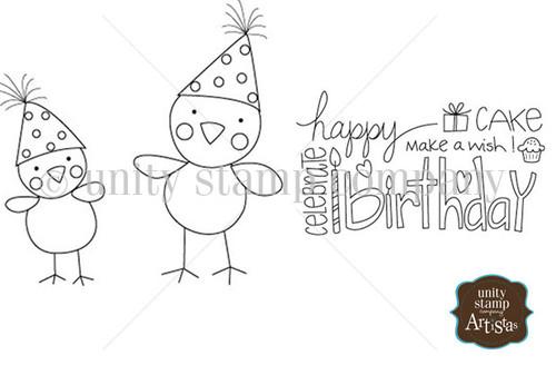 Happy Chick Birthday {Itty Bitty}