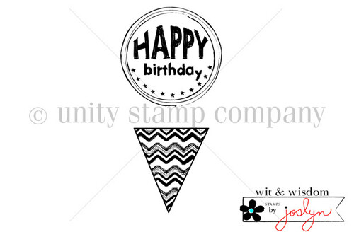 Encircled Happy Birthday