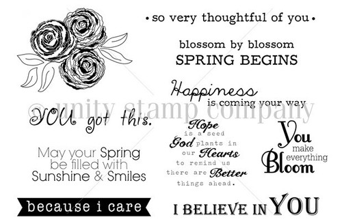 Blossom by Blossom {April 2013 sentiment kit}