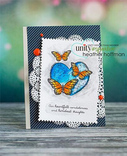 Butterflies and Sunbeams {august 2015 sentiment kit}