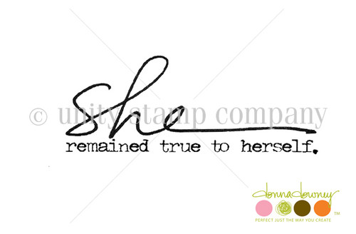 She Remained True {Donna Downey Itty Bitty}