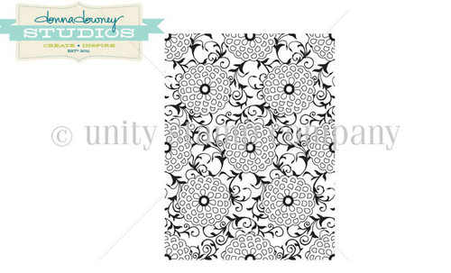Open Bloom Background {Donna Downey}