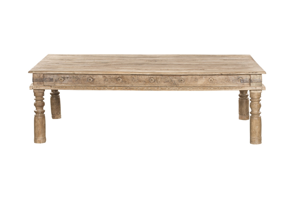 Coffee Table - Antique Carved