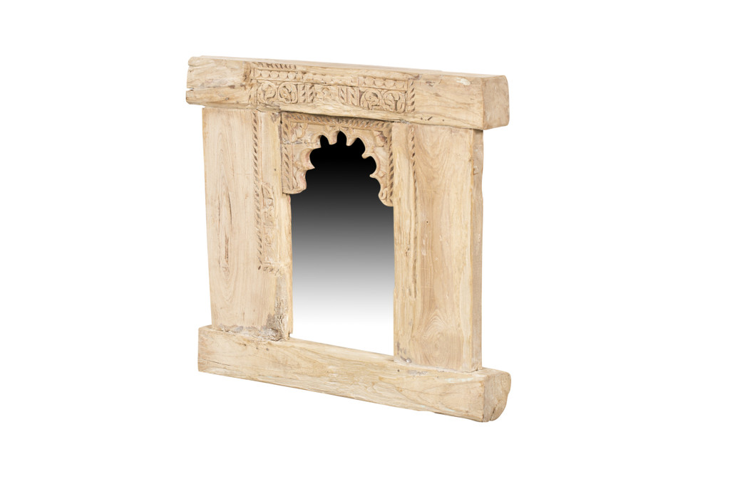 Mirror - Carved Wall