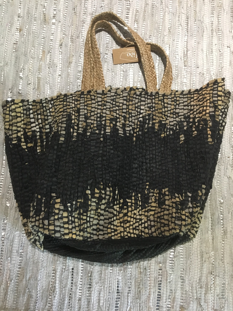 Tote - Woven Leather