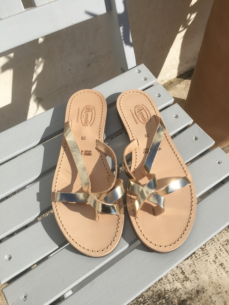 Martina Sandal - Gold