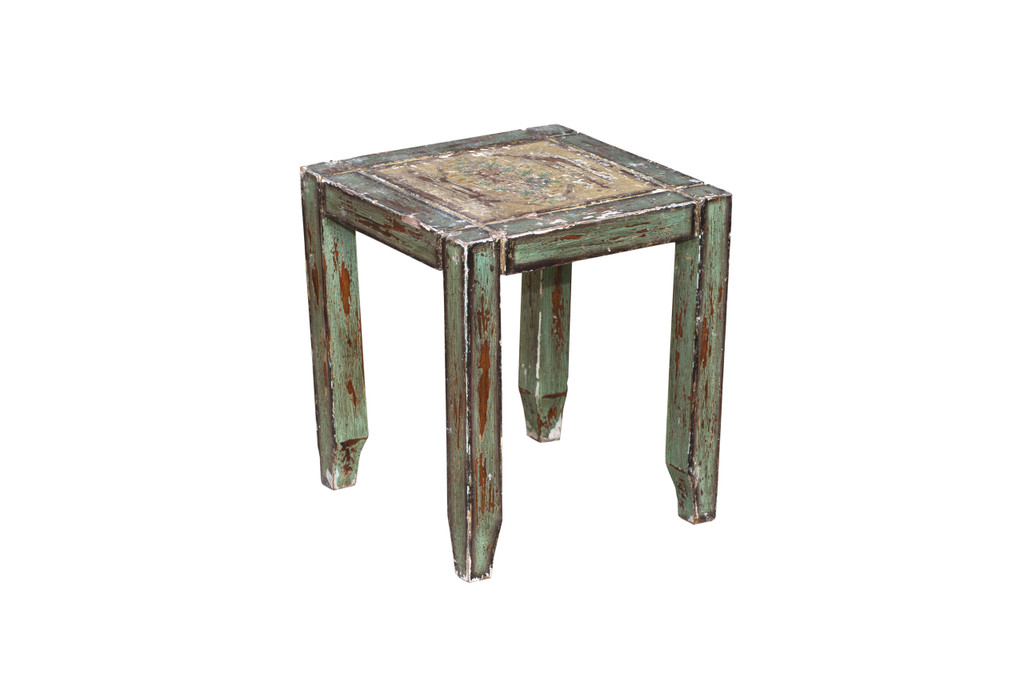 Painted Wood Table