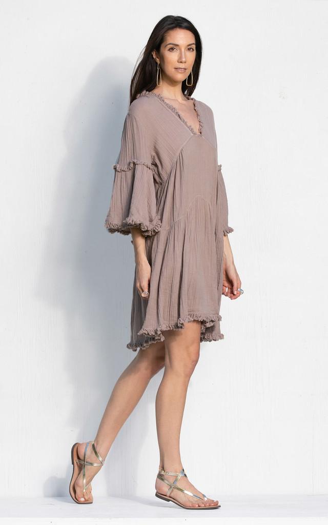 Otranto Dress - Lavender Grey