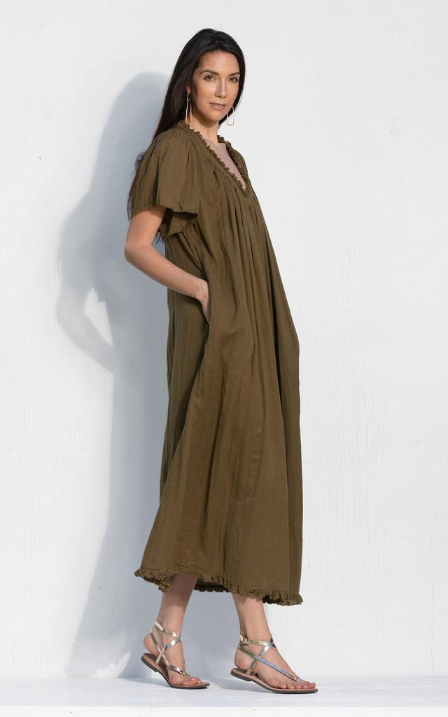 Messina Dress - Khaki