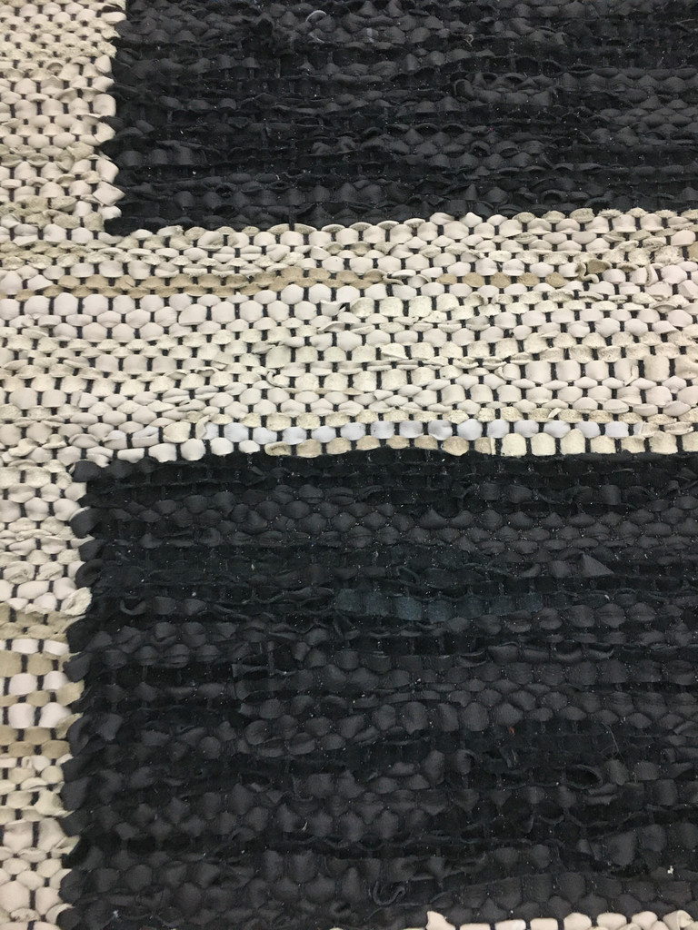 Rug - Leather Squares