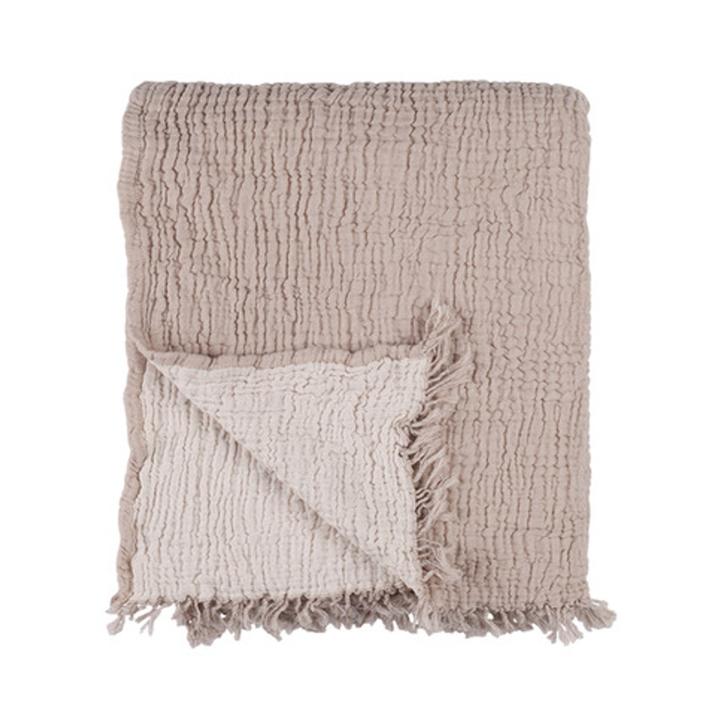 Cocoon Bed Cover / Throw - Beige
