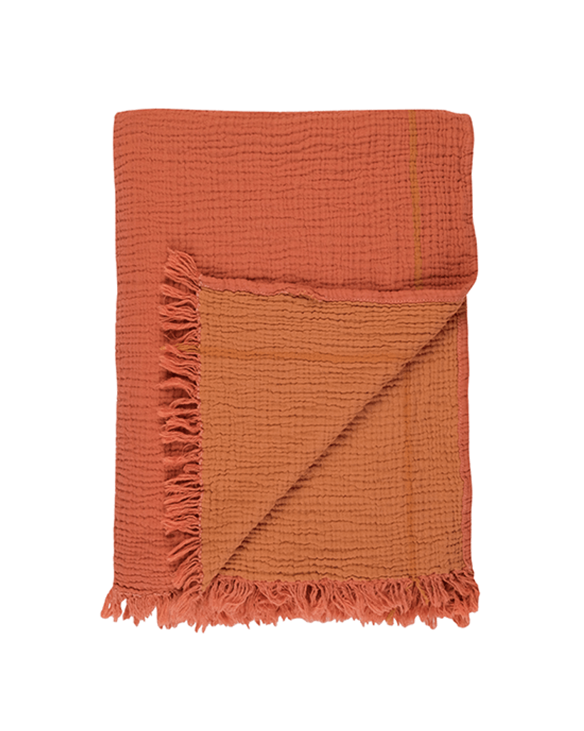 Cocoon Throw - Coral