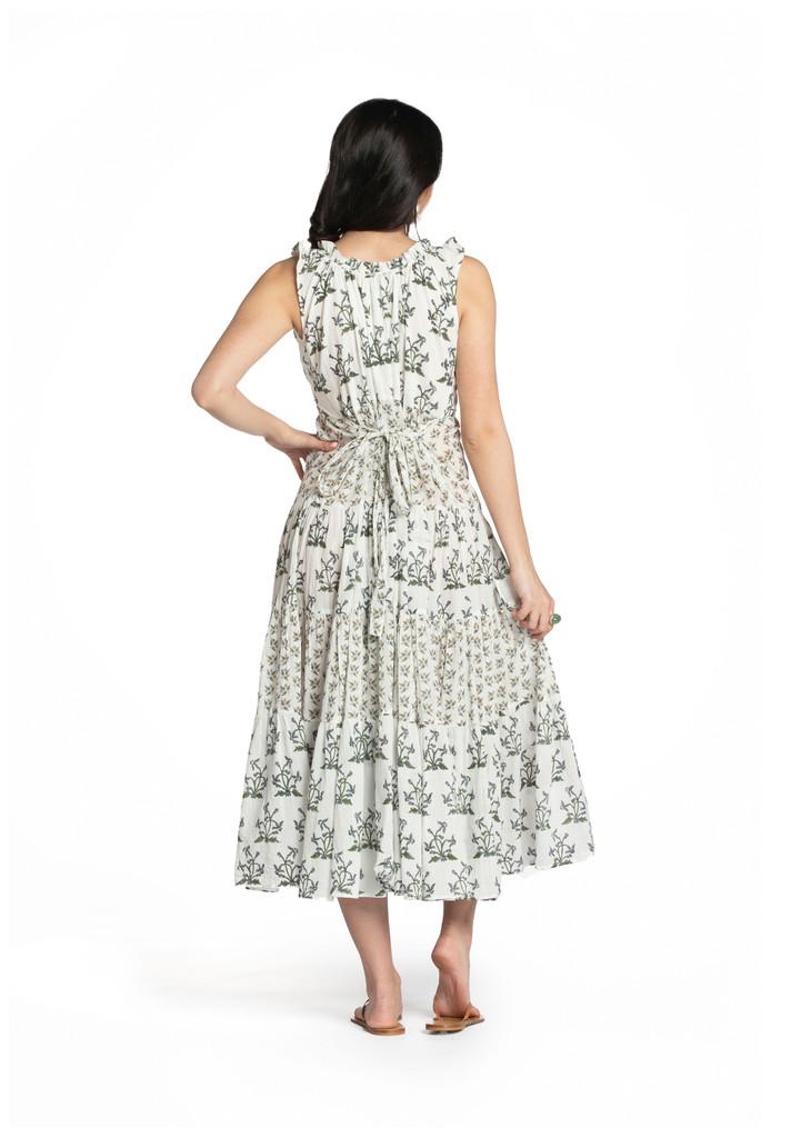 6M Dress - Blue Flowers