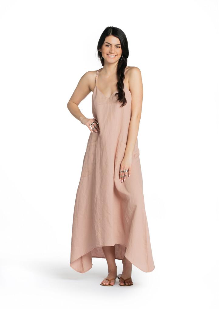 Slip Dress - Dusty Rose