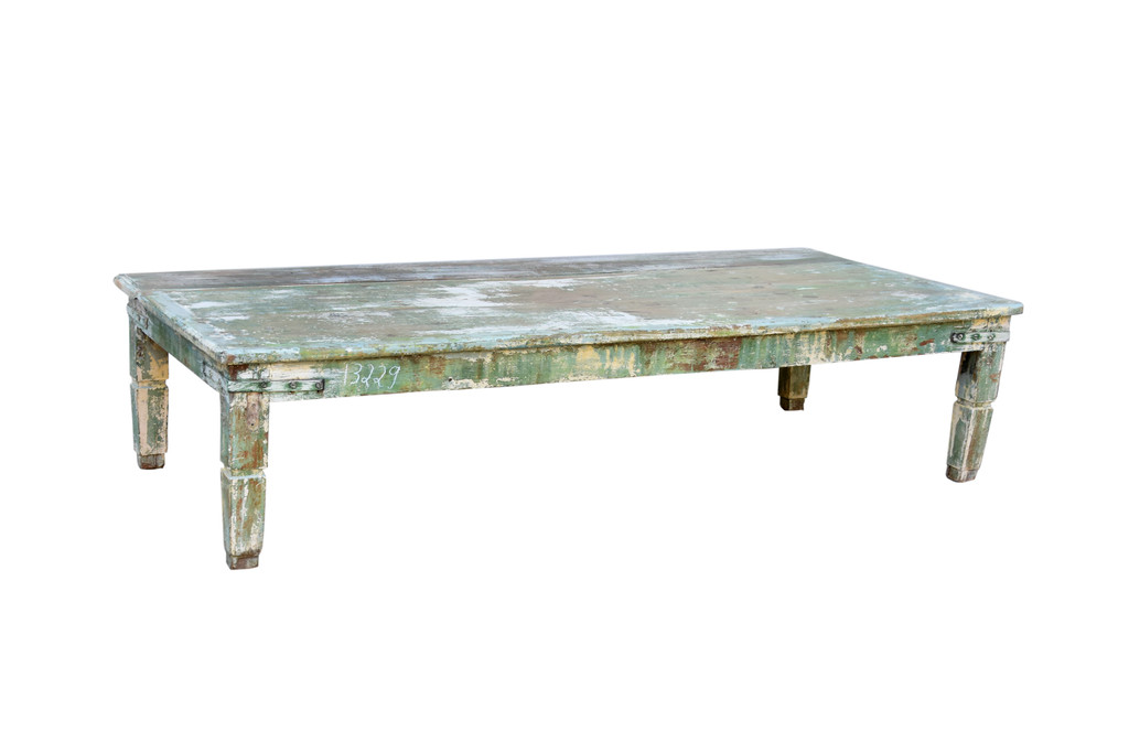 Coffee Table - Green Patina