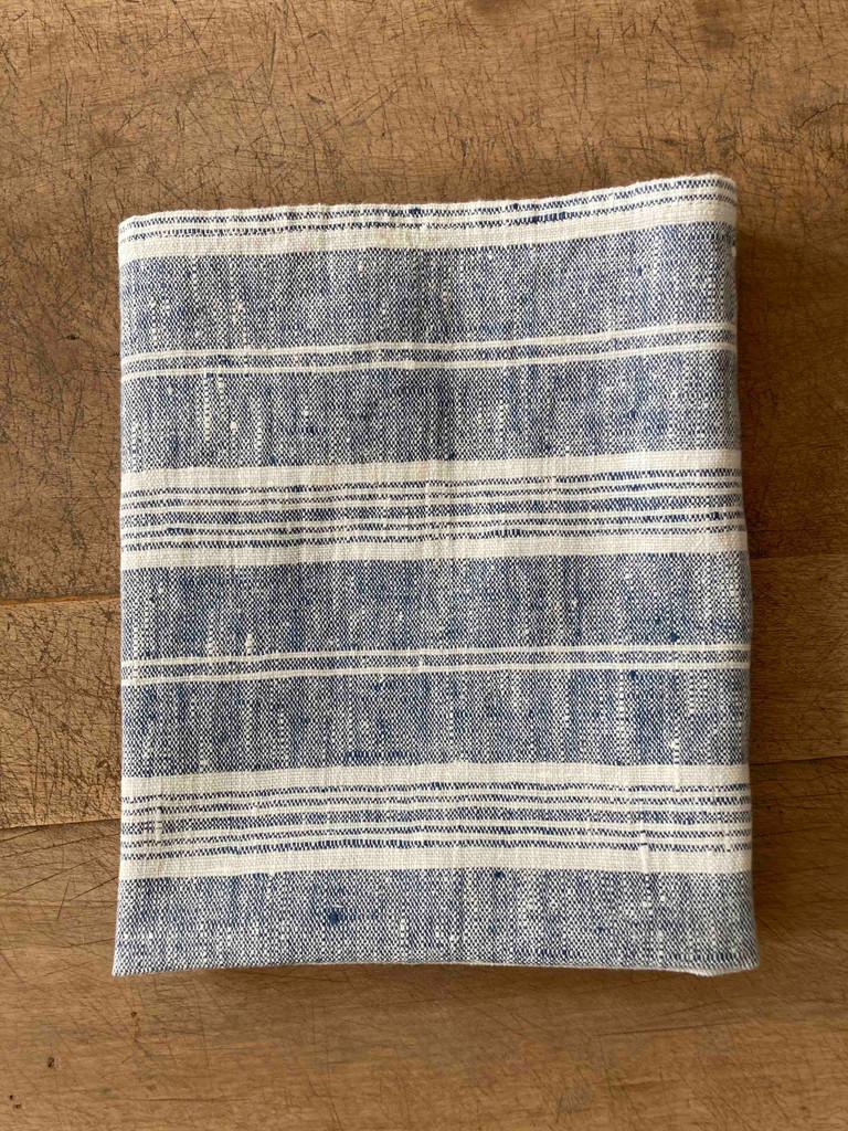 Hand Towel - Indigo Multistripe